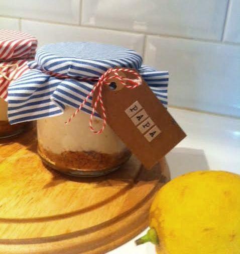 dia del pare recepta cheesecake