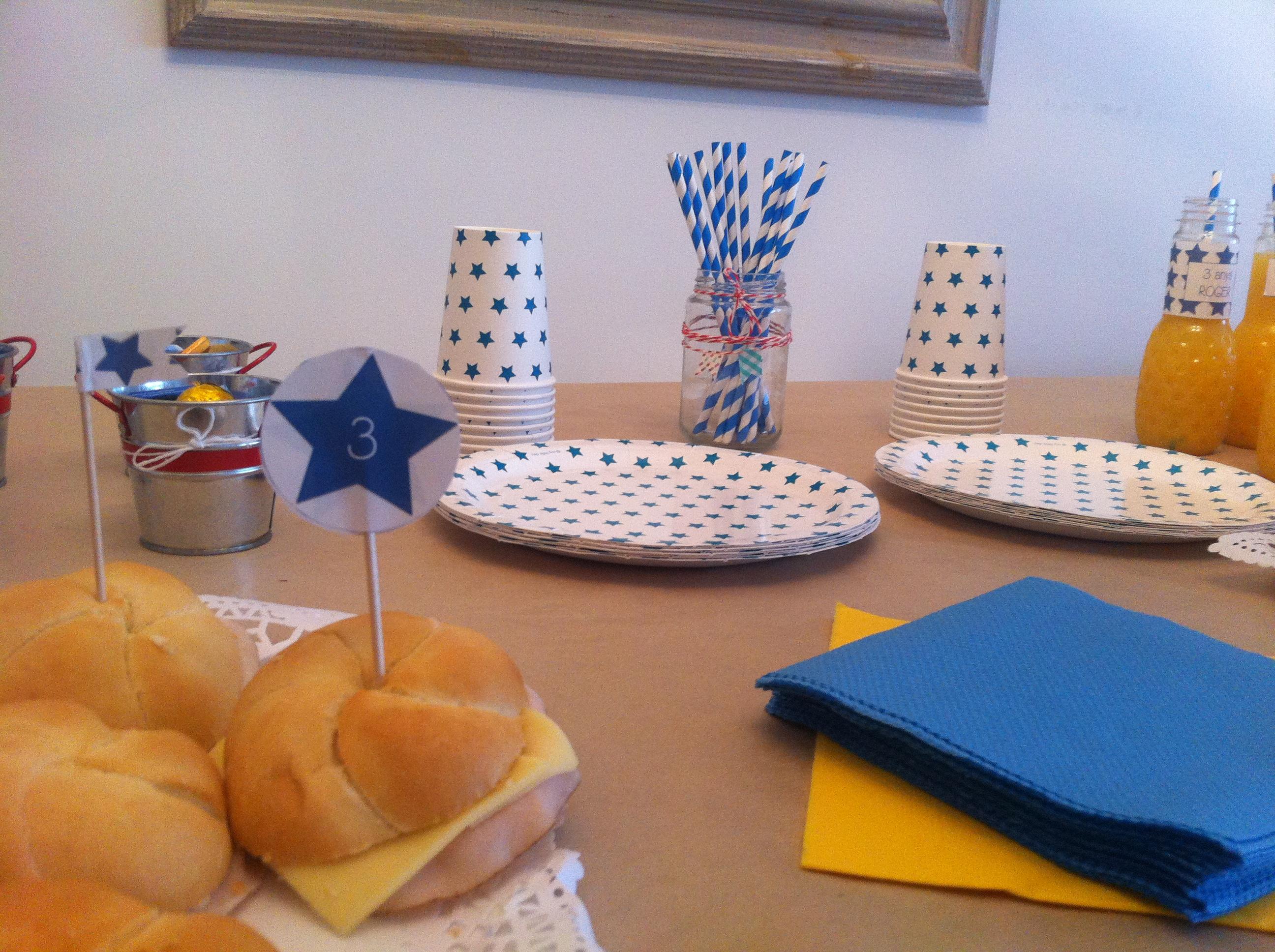 fiesta cumpleaños decoración